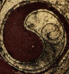 keltisches Yin und Yang Symbol